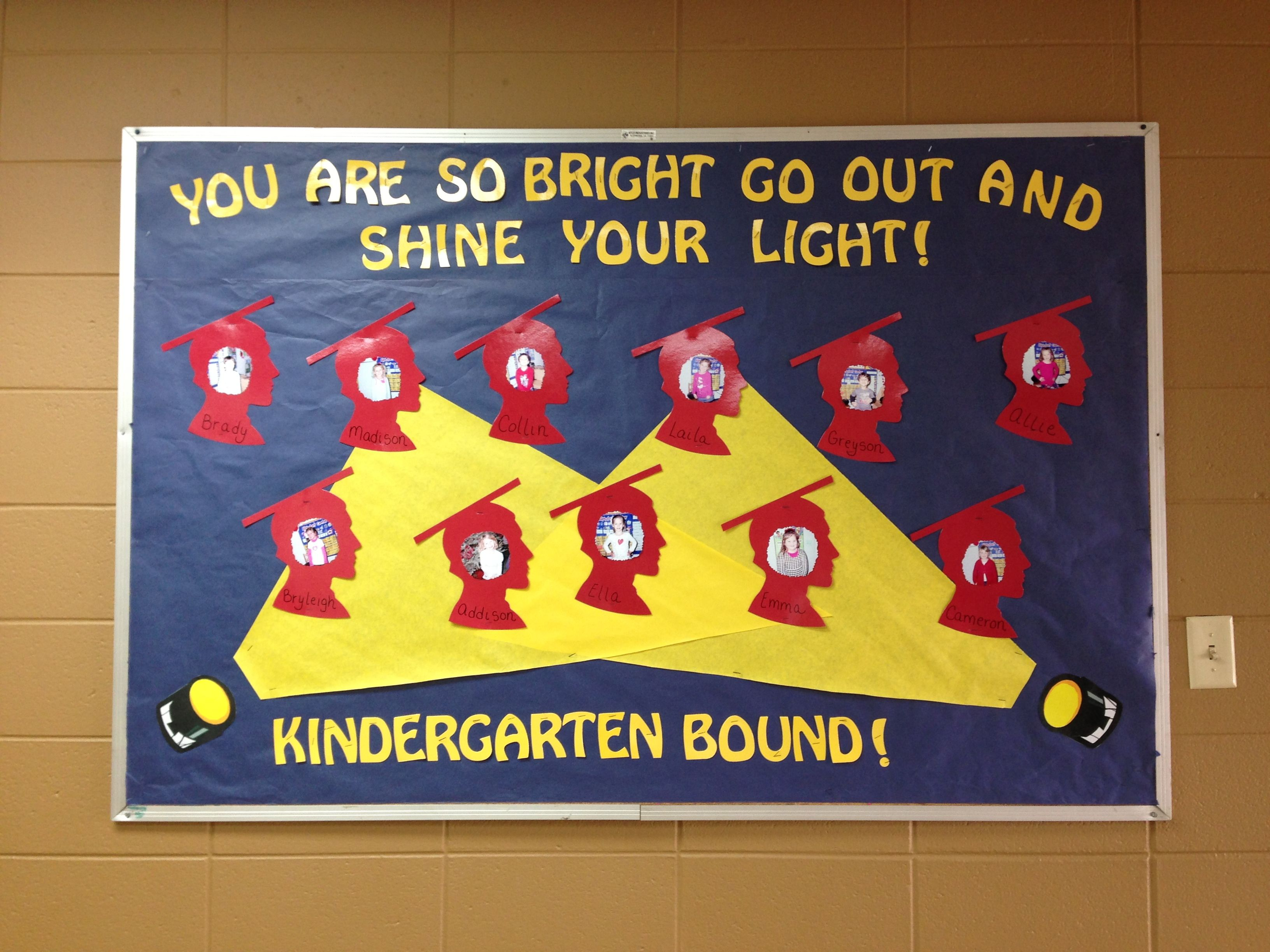 Preschool graduation bulletin board | ((( Classroom Ideas ...