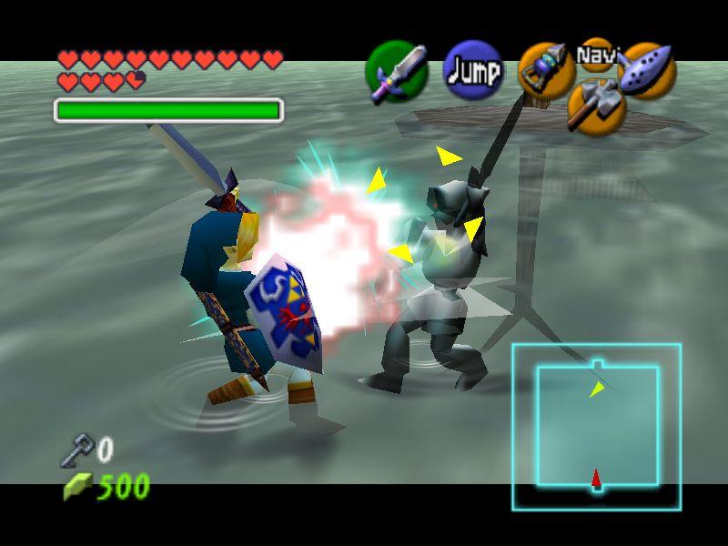 Ocarina of Time Walkthrough Water Temple Zelda Dungeon