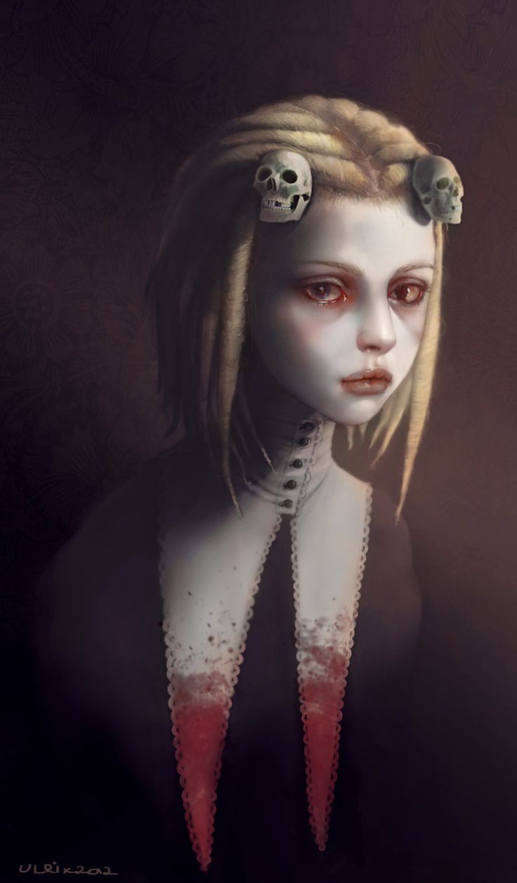 Lenore the Cute Little Dead Girl by UlrikBadAss