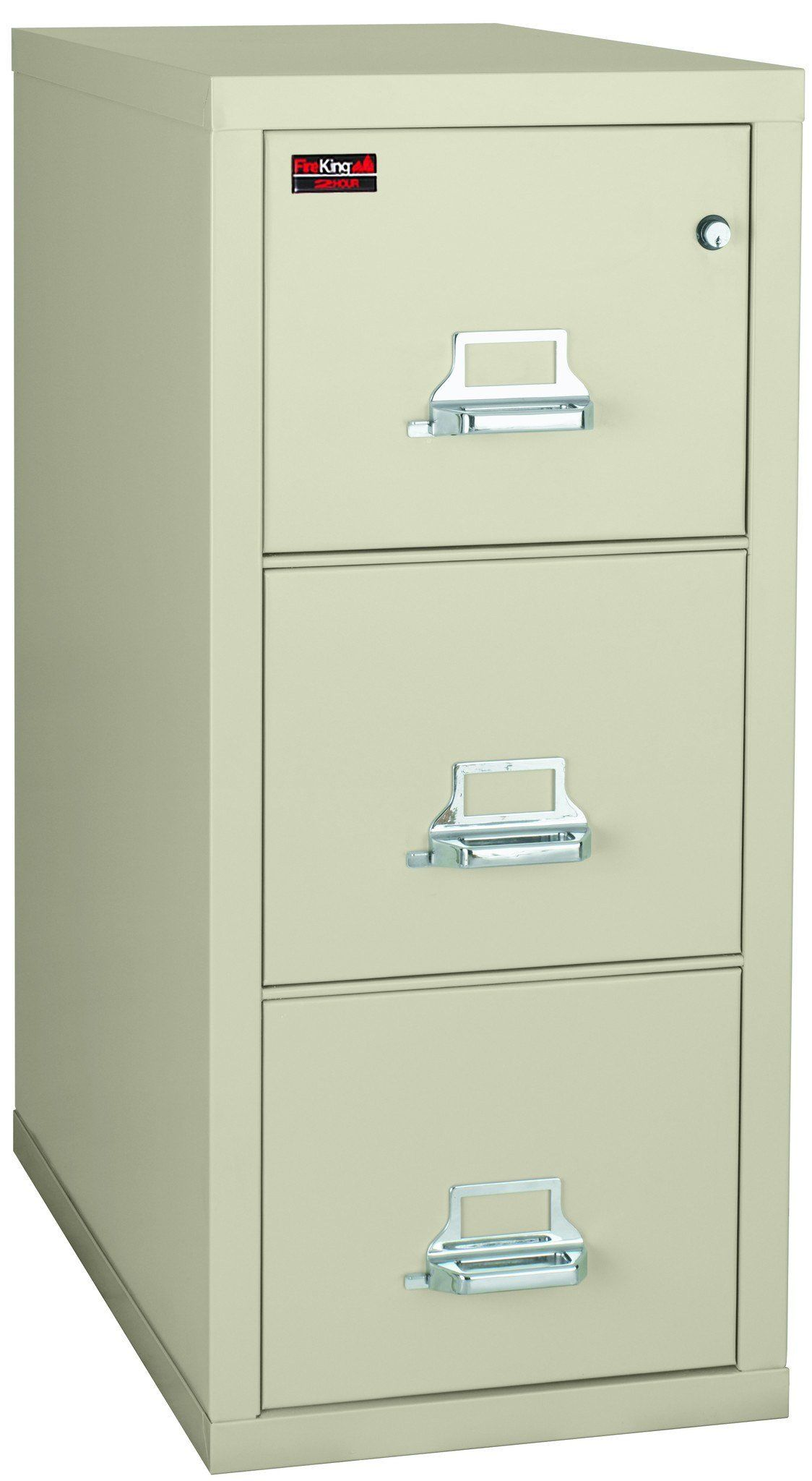 FireKing 3 2144 2 Two Hour Vertical Fire File Cabinet