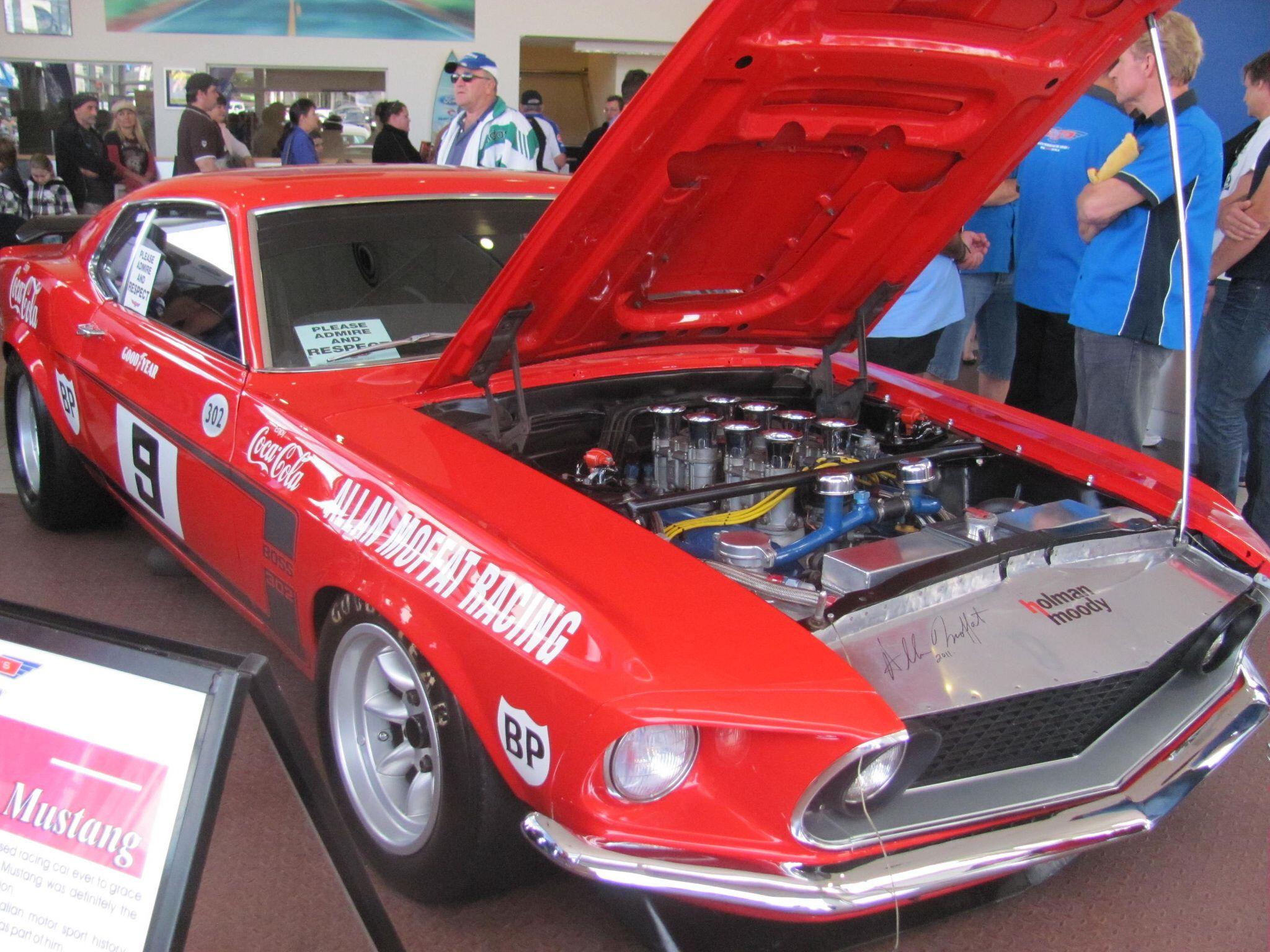 Allan Moffat s 1969 Trans Am Ford Mustang Mustang