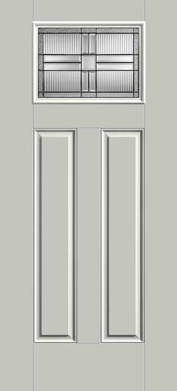 Elegant 2 Panel Entry Door