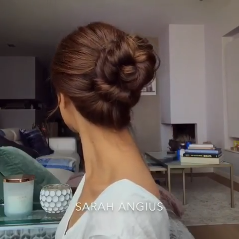 #favourite #updo #hairtutorial #bun #braiding #hairstyles #braids #bun #updotutorial