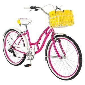 Schwinn Womens Lulu 26 Cruiser Bike Pink Cruiser Bike Schwinn Bike Reviews