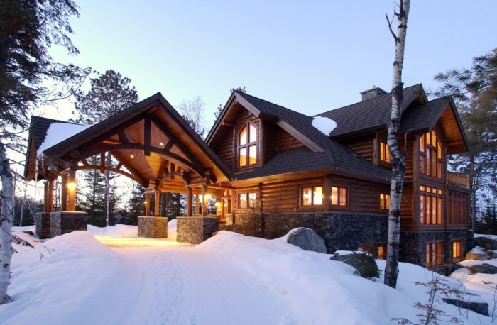 You Ll Never Forget Your Stay In These 10 One Of A Kind Minnesota Cabins Log Homes Log Cabin Homes Cabin Homes