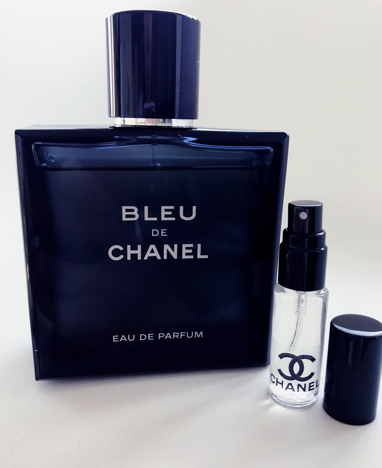 2195 Bleu De Chanel Eau De Parfum Edp Cologne Sample Glass Travel