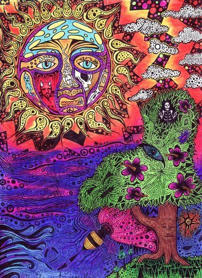 sublime sun Art and Boards Pinterest Psychedelic