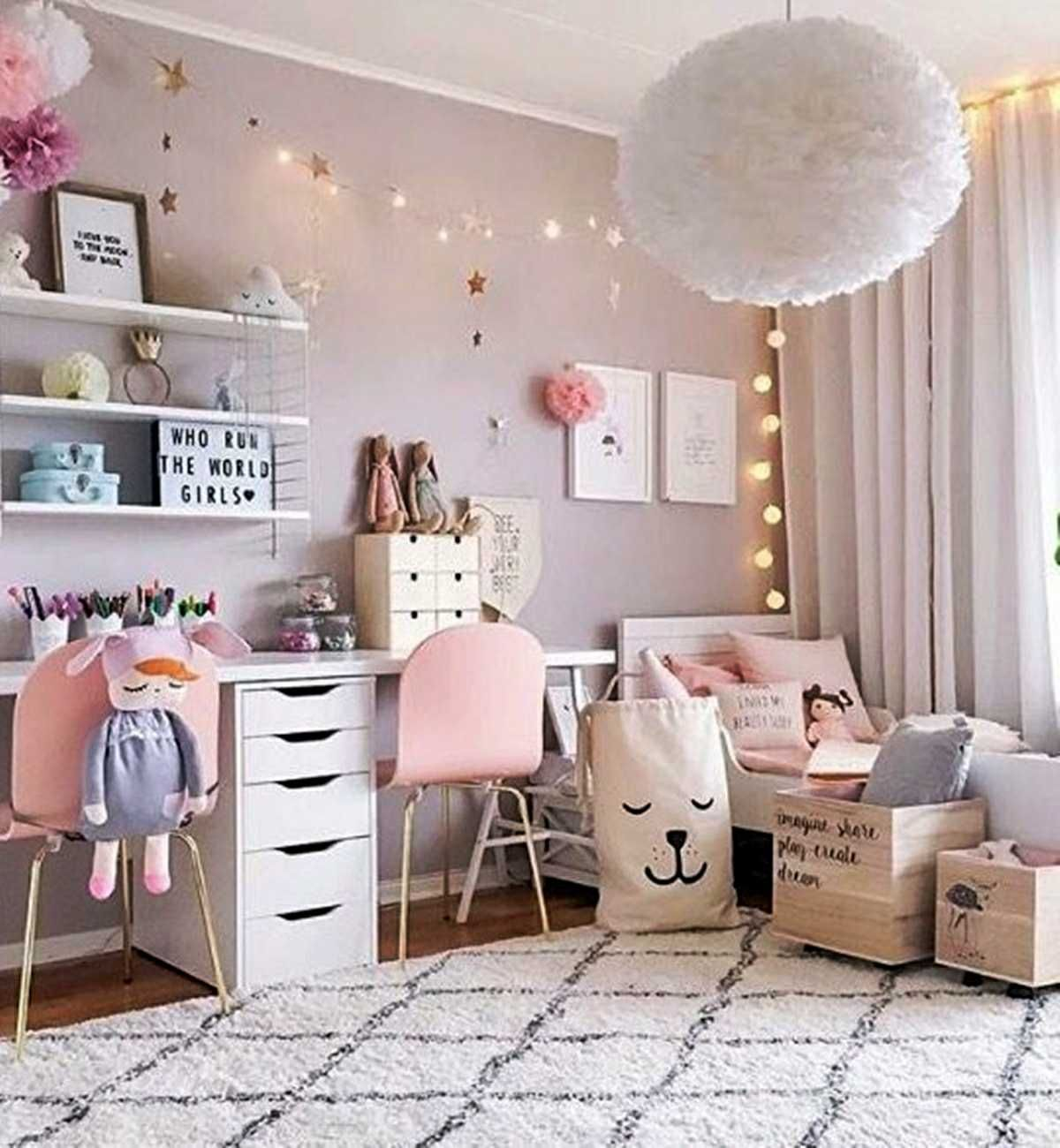 63 Little Girl Bedroom Ideas For Big Decoration Trends 2020
