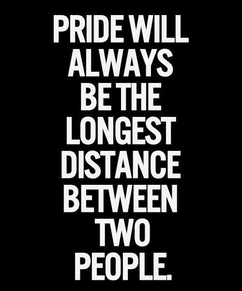 Distance Between Two People Wise Friendship Quote