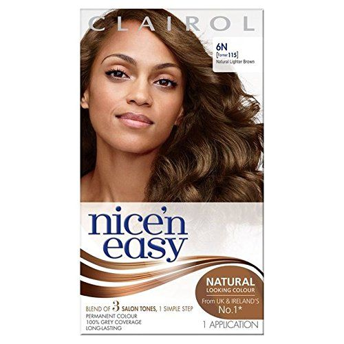 Nice n Easy Hair Dye Lightest Brown 65GN PACK OF 6 -- To view further for this item, visit the affiliate link Amazon.com.