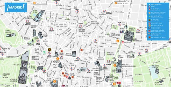 Download our city map of Madrid  All the basic information you