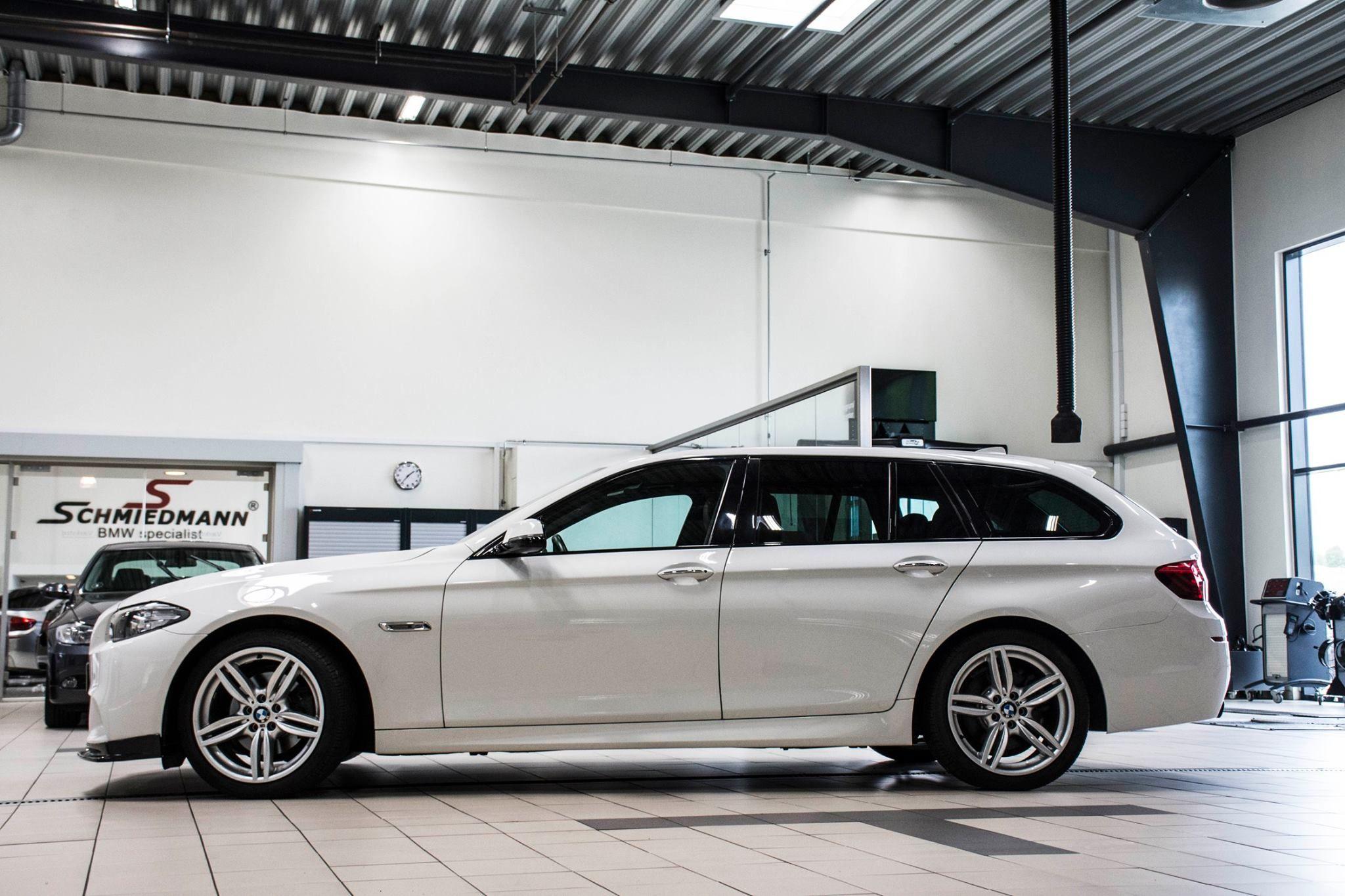 BMW F10 F11 Frontspoilerlippe EVO für M Technic Frontspoiler echt