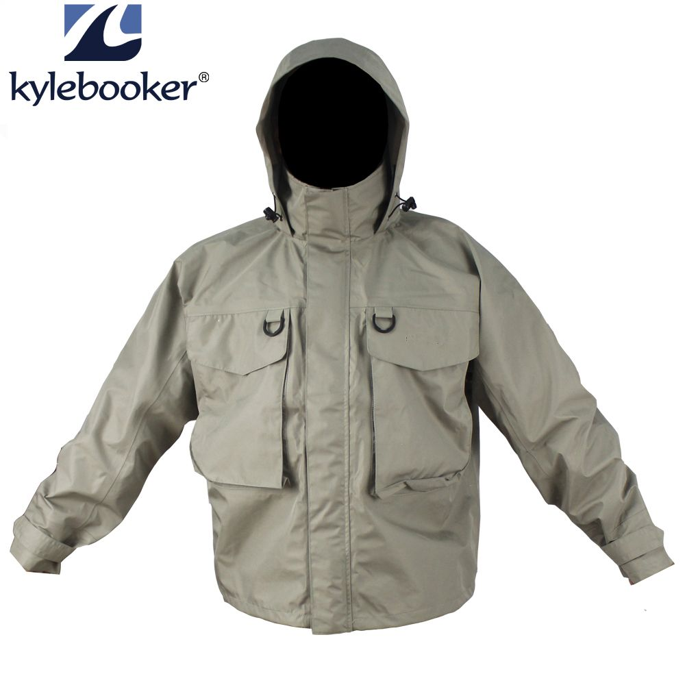 New Men S Breathable Fly Fishing Wading Jacket Waterproof Fishing Wader Jacket Clothes Outdoor Hunting Fishing Clothing Jaket