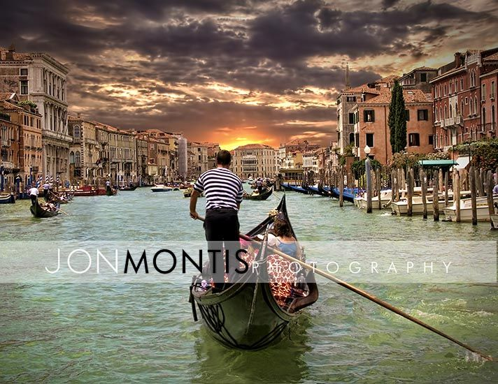 Venice, Italy has to be the most beautiful place in the world for a wedding. Tampa Wedding Photographer. Jon Montis Photography