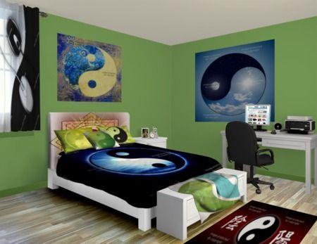 custom yin yang bedding | yin yang bed sheets, comforters & duvet