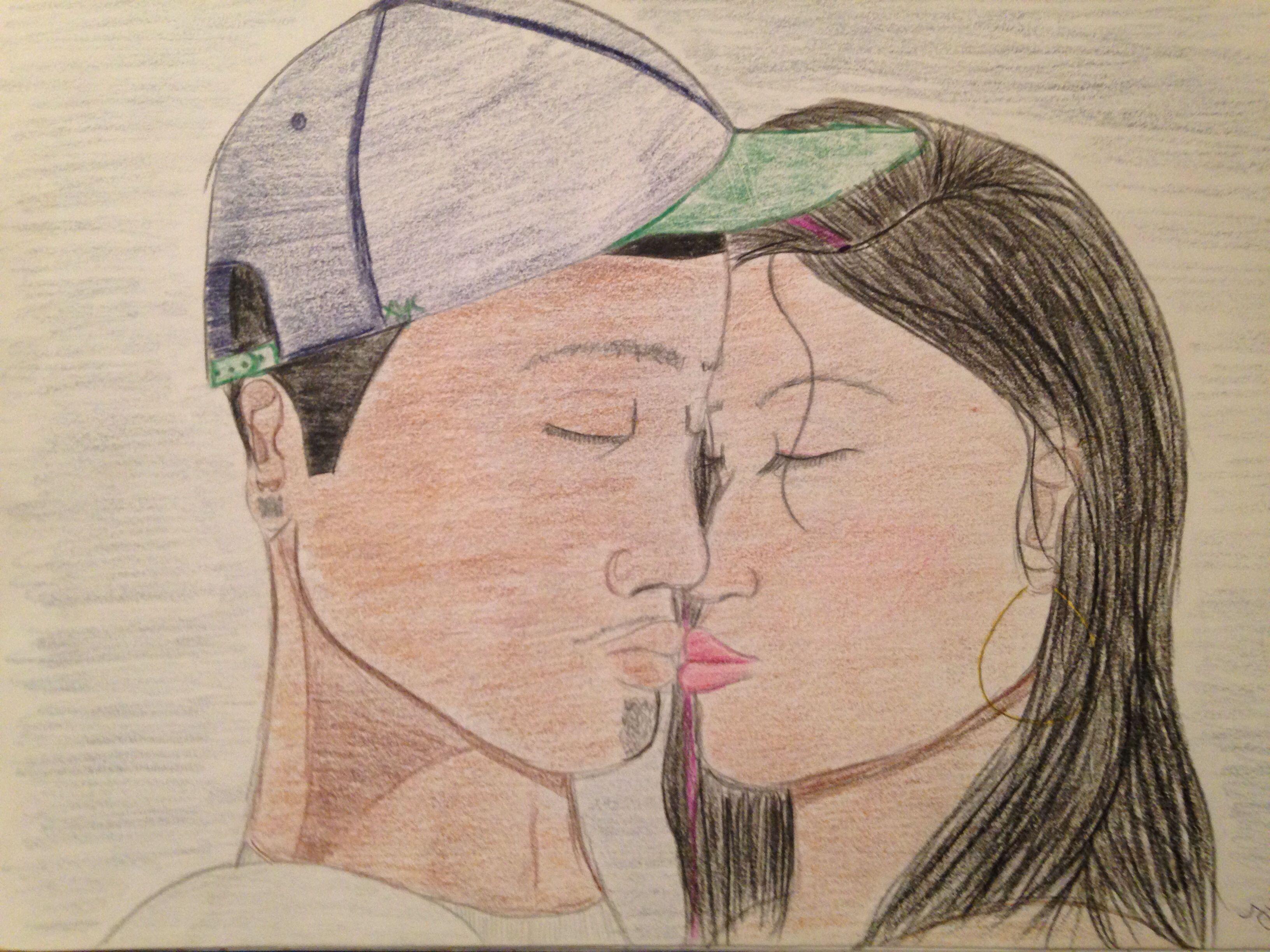 Kiss Drawing