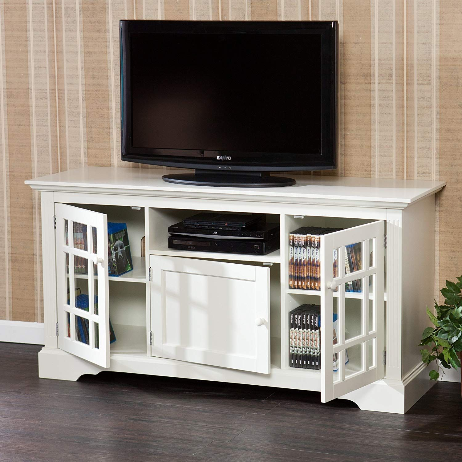 Coastal TV Stands & Beach TV Stands White tv stands