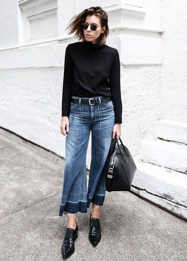 6 Novas Maneiras de Usar Pantacourt Jeans   Street styles, Street and  Winter fashion