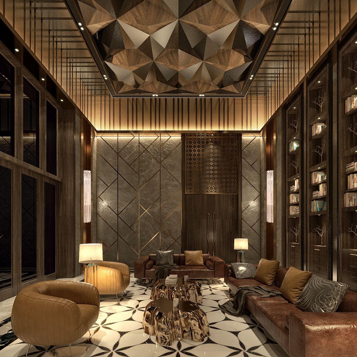Living Room Luxury Interior Design