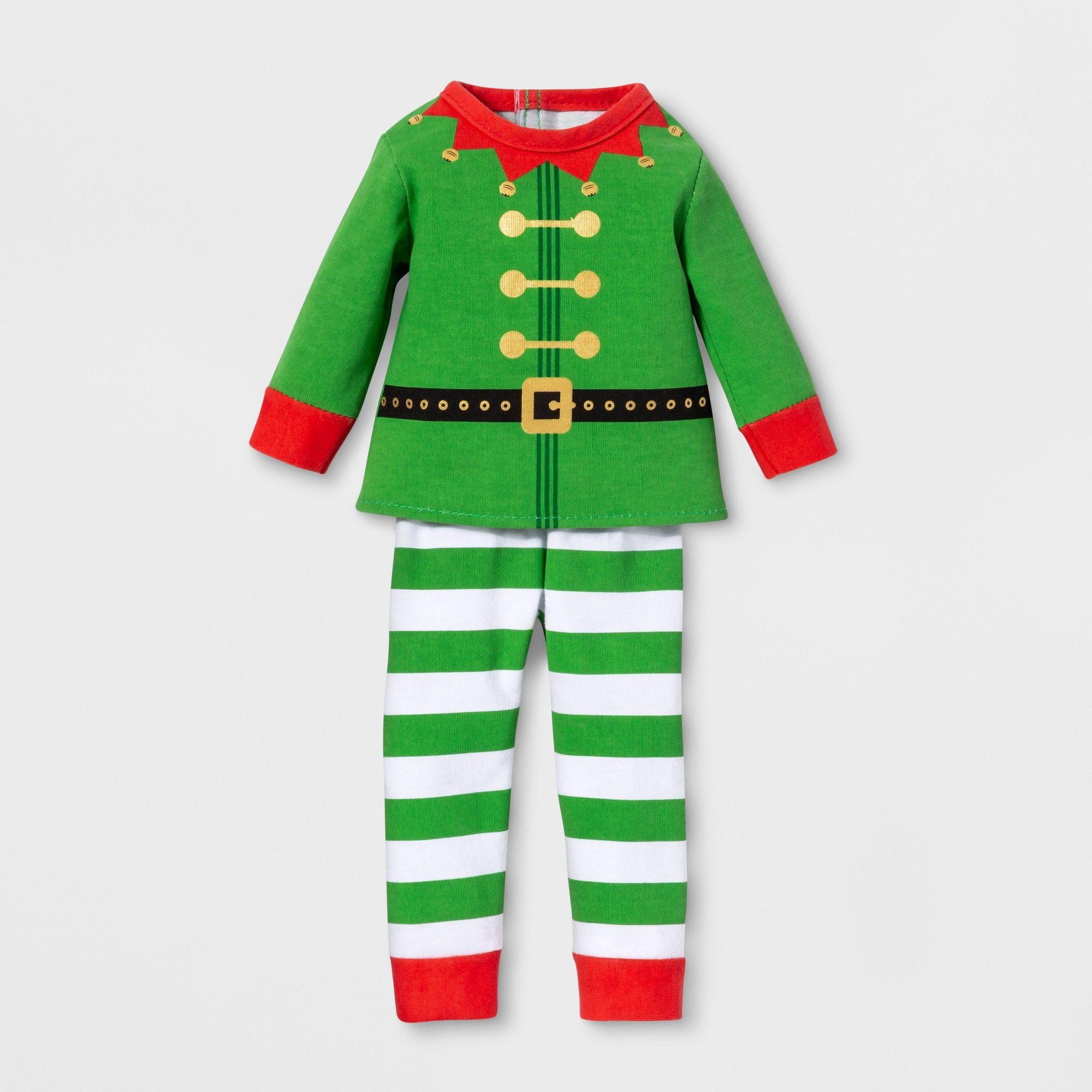 "Wondershop Christmas Plaid Nightgown Pajama Dress 18/"" Our Generation AG doll"