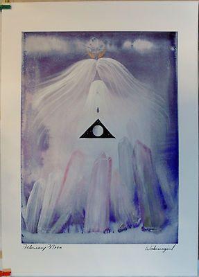 $29.99 Native Spiritual Art Print- February Moon by Wabimeguil (Betty Albert-Lincez)