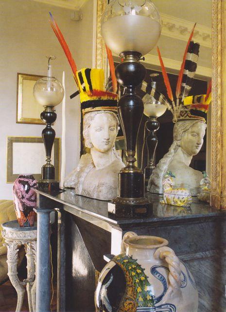 Jacques Grange mantelpiece