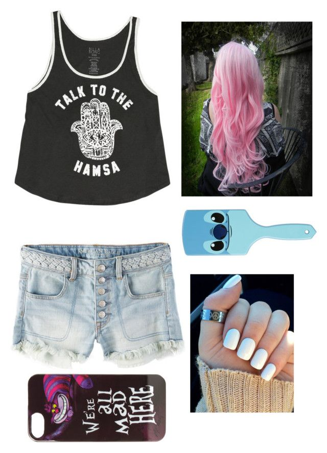 """"""""""" by xxx-too-skinny-xxx ❤ liked on Polyvore featuring Billabong, American Eagle Outfitters, Cotton Candy and Disney"""