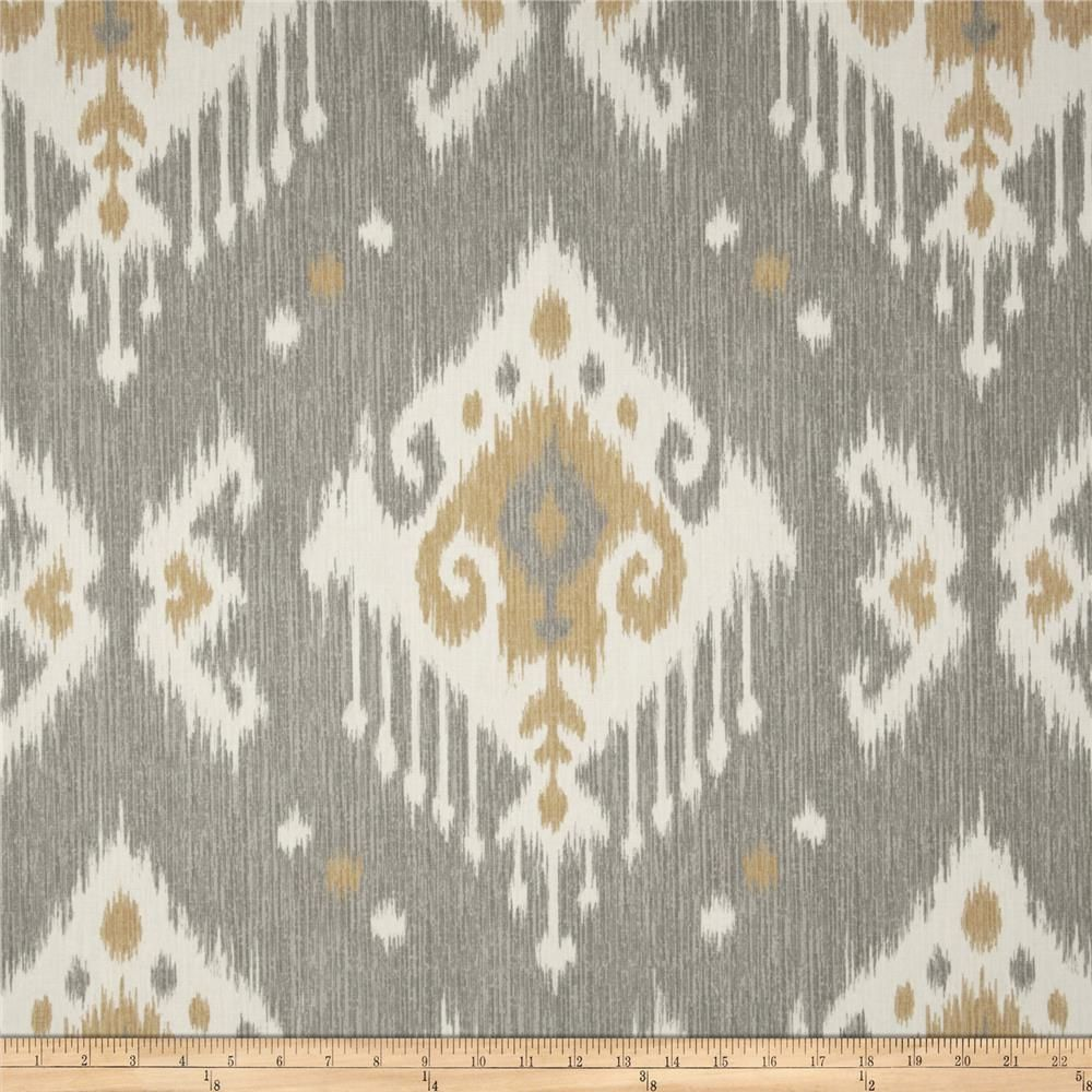 Magnolia Home Fashions Dakota Grey From Fabricdotcom Screen Printed On Cotton Duck This Medium