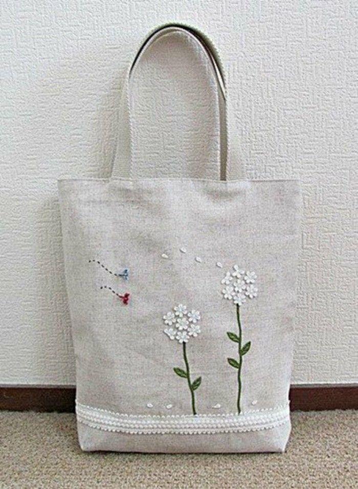 Canvas Tasche: Ein richtig treuer Begleiter! | Bag, Embroidered bag ...