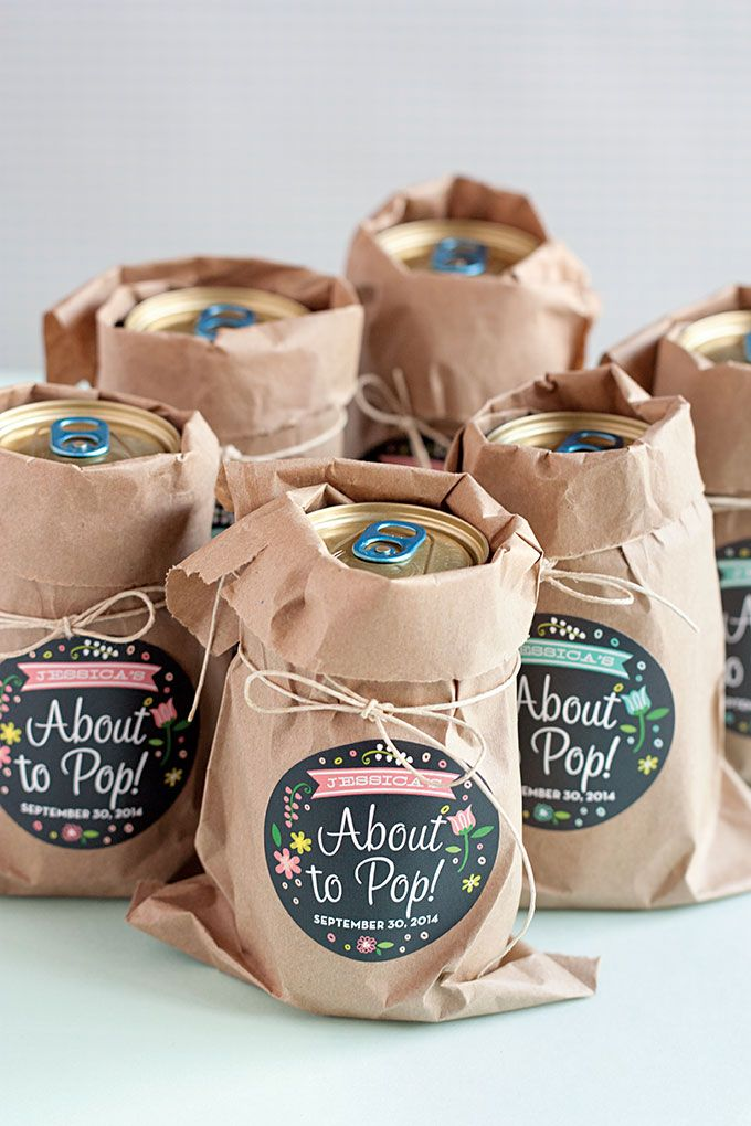 easy baby shower favor ideas  shower favors, favors and babies, Baby shower