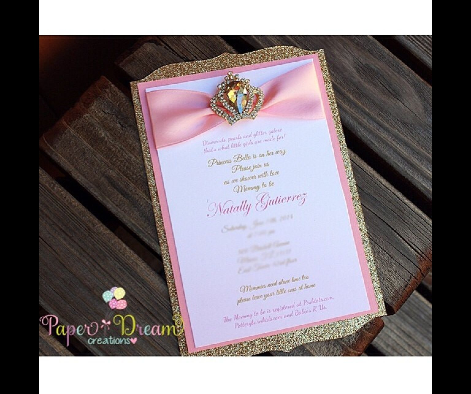 Princess Invitation | Sophia\'s 1st Birthday | Pinterest | Princess ...