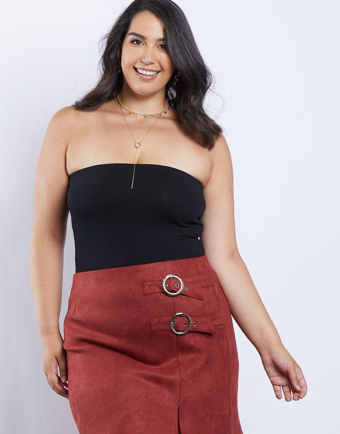 Curve clair strapless bodysuit strapless bodysuit mini