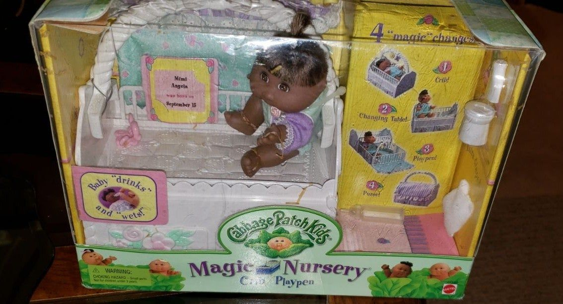 Cabbage Patch Kids Magic Nursery Complete In Box Cabbage Patch Kids Dolls Cabbage Patch Kids Patch Kids