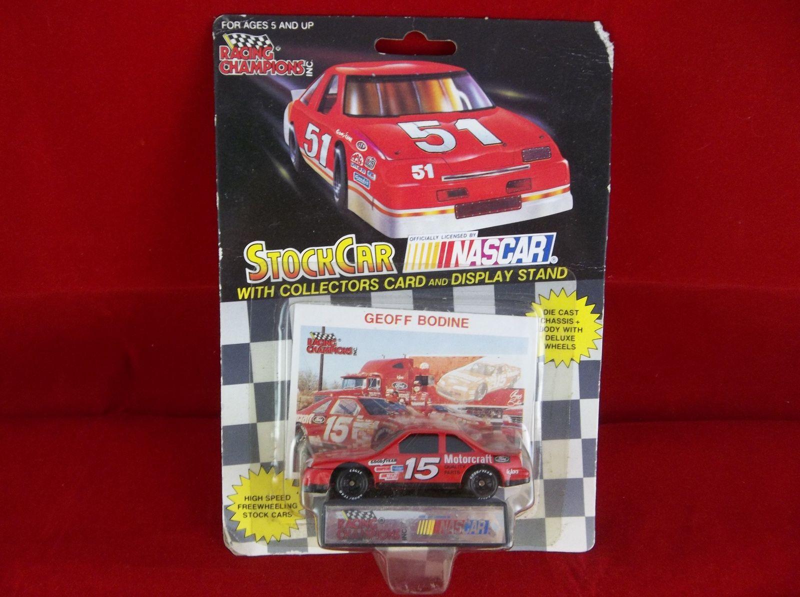 Racing Champions 1991 NASCAR 15 Geoff Bodine Diecast Stock Car RacingChampions Toys Cars StockCars RaceCars NIP GeoffBodine Ford