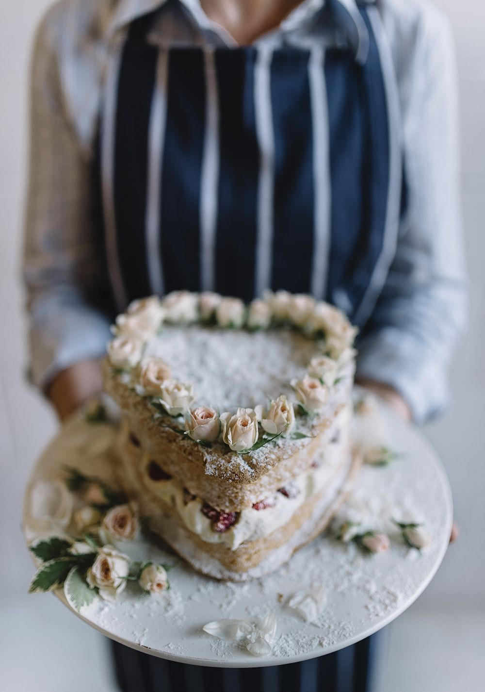 How sweet is this cake? Take a look at this heart shaped naked wedding cake from Gillian Bell and more beautiful creations. Warning: you'll get massive cake cravings though. http://www.queenslandbrides.com.au/top-tier-stunning-cakes-taste-good/?utm_campaign=coschedule&utm_source=pinterest&utm_medium=Queensland%20Brides%20Magazine&utm_content=Top%20Tier%3A%20stunning%20cakes%20that%20taste%20good%20too