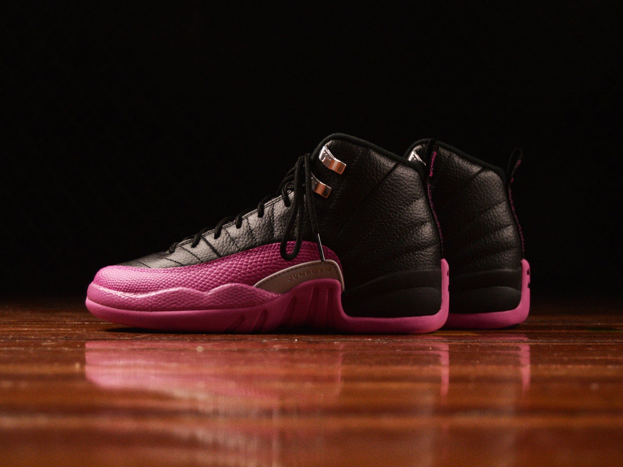b3425264ed2 ... netherlands kids air jordan 12 retro gg deadly pink 6a120 08c86 ...