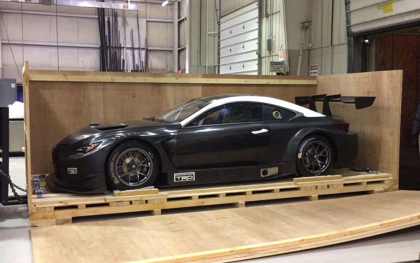 Lexus RC F GT3 Race Car In-a-Box – Clublexus