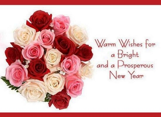 new year warm wishes 2015