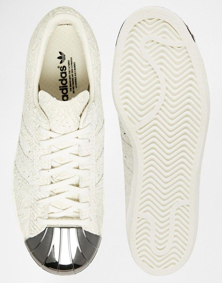 adidas superstar blanche femme asos