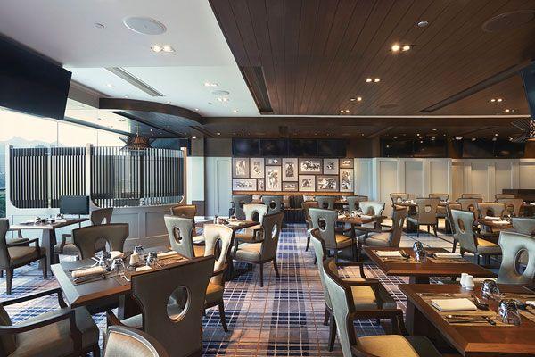 The Spirit Of Horse Racing Restaurant Design Interior Menu Cover