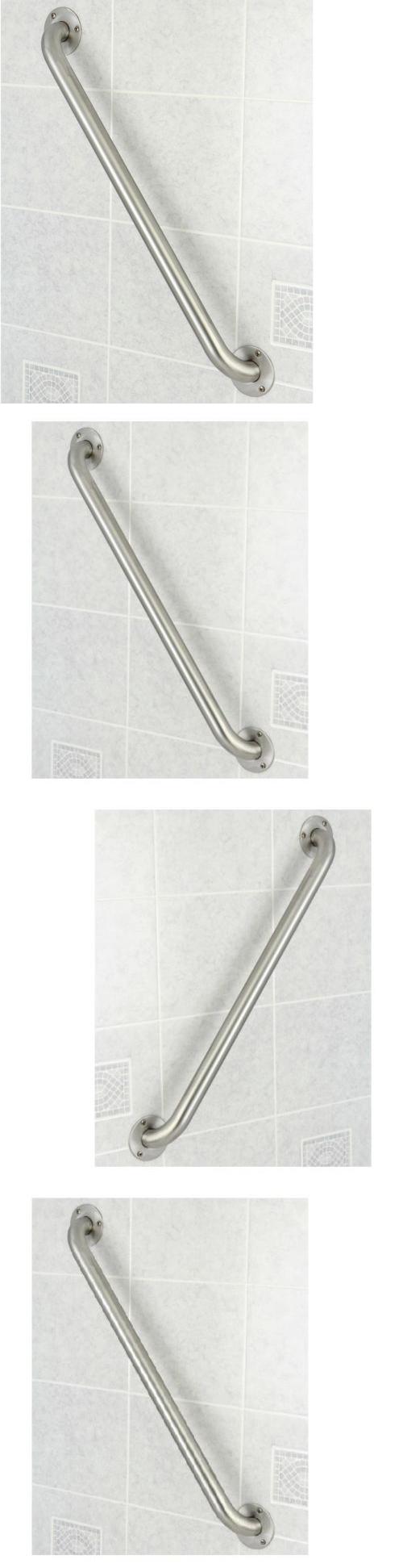 Handles And Rails: Bathroom Grab Bar Stainless Steel 24 Bath Shower Handicap  Safety Rail Handle