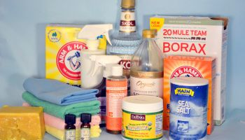 Basic DIY Cleaner Recipe Ingredients: 17 Days of Natural Cleaning
