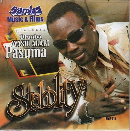 Wasiu Alabi Pasuma - Stability - CD
