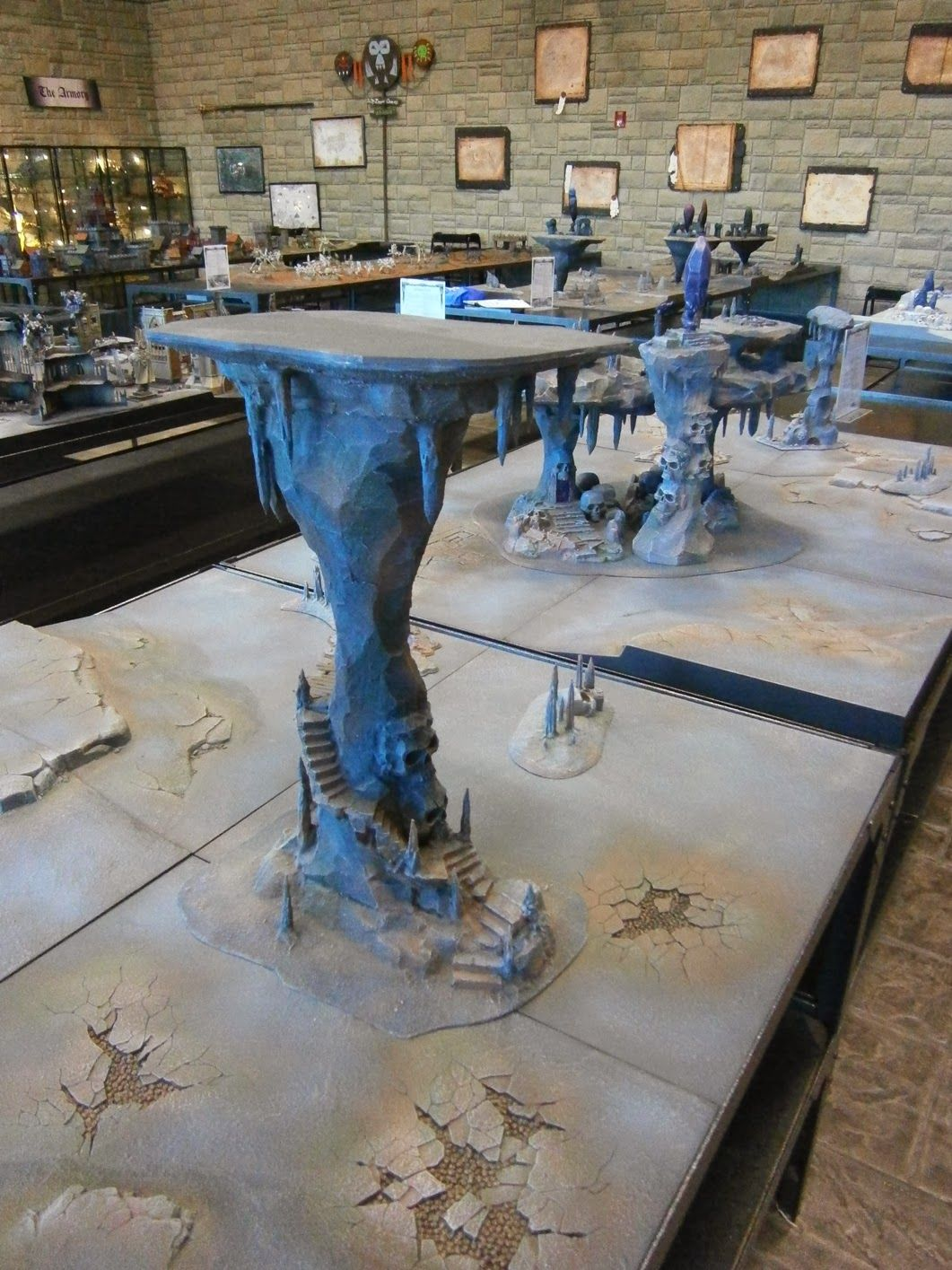 Greetings once again InterWebs!!!!! My recent trip to Memphis included a stop at Games Workshop's U.S. Headquarters which is called the 'Wor... #wargamingterrain