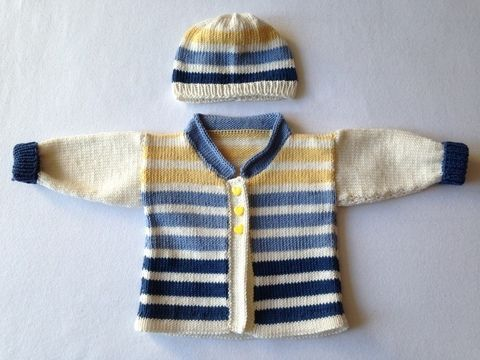 Babyjacke 56 stricken