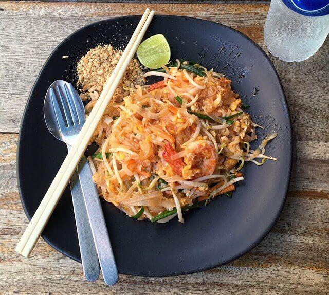 Pad tha ou nouilles saut es tha landaise recette - Cuisine thai pour debutants ...