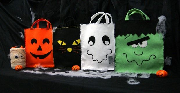 20 halloween goody bag ideas for easy party decorations Halloween - decorate halloween bags