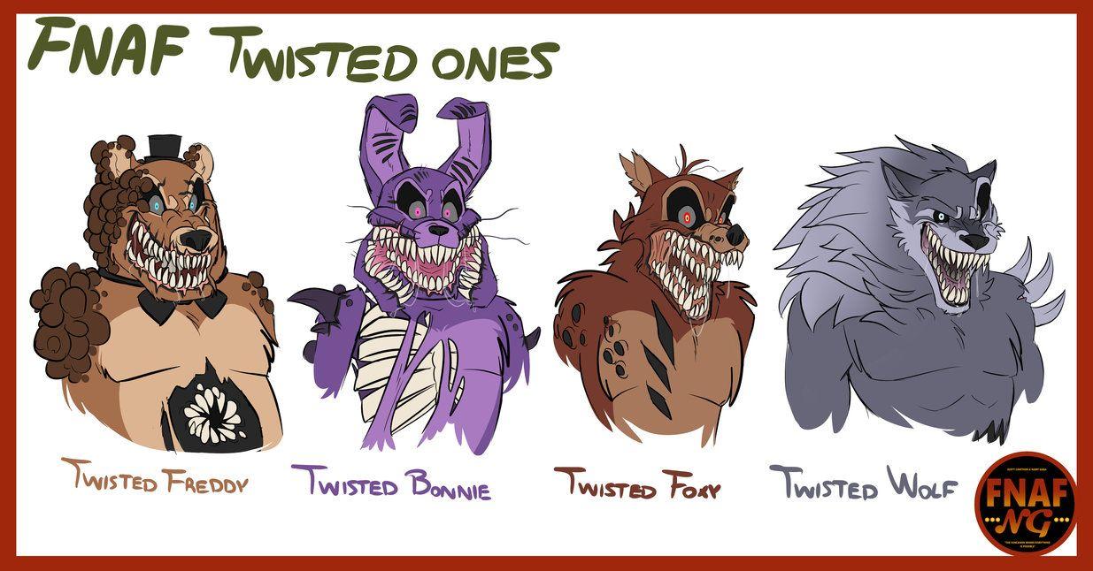 the twisted ones fnaf pdf