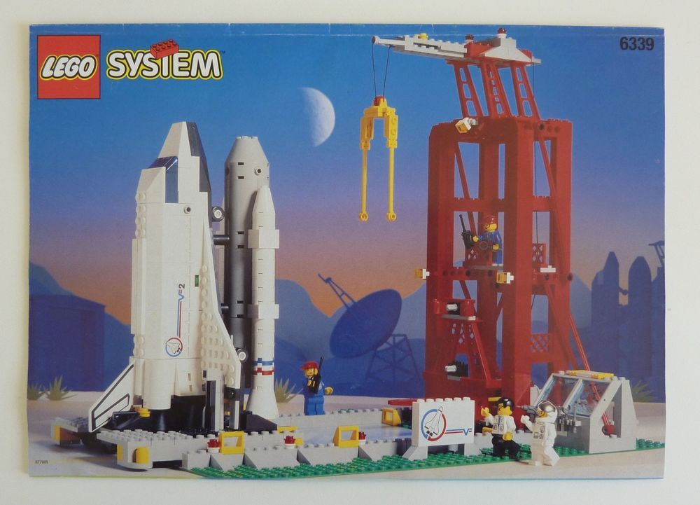 lego space shuttle transport instructions - photo #39