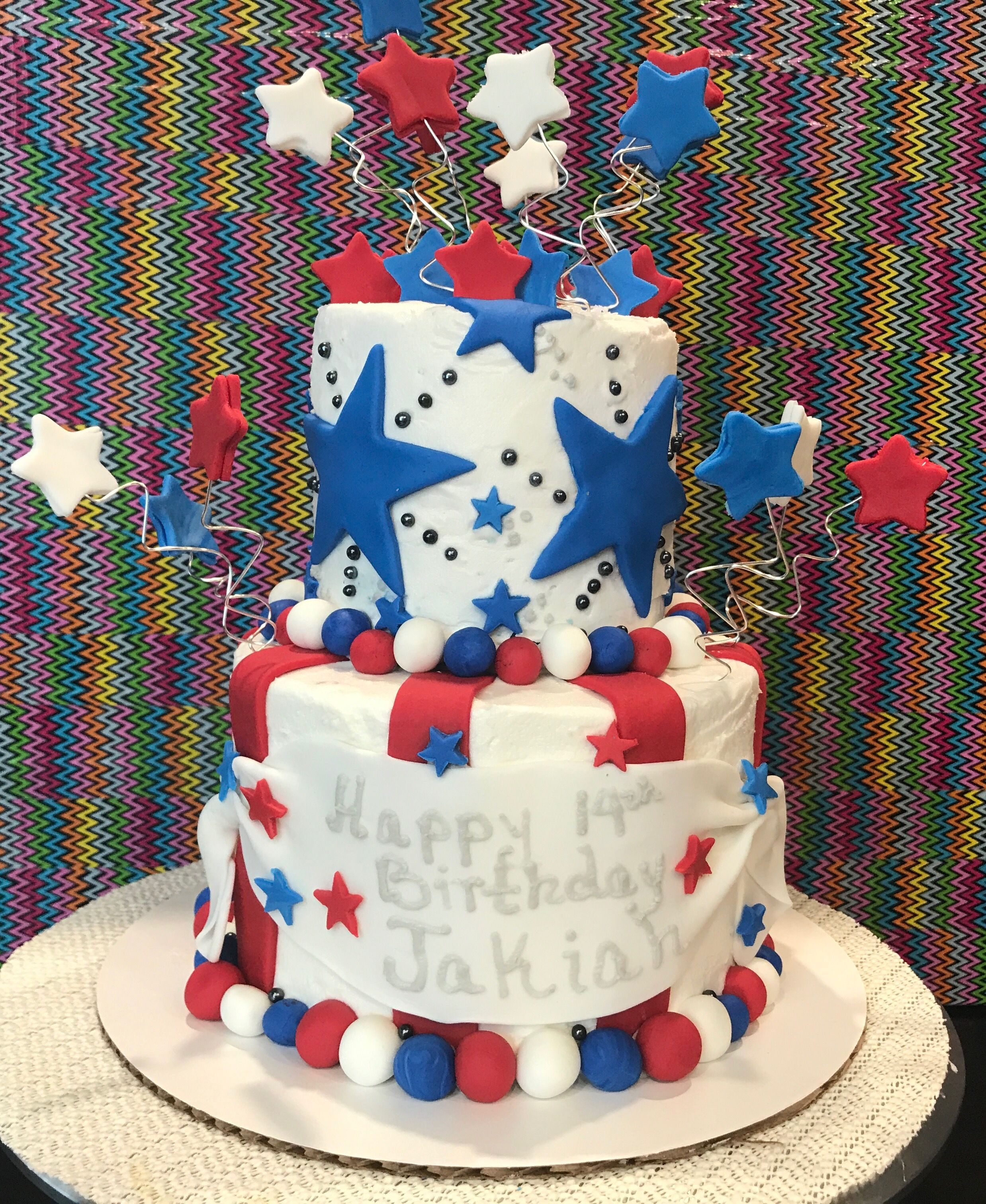4th Of July Birthday 742017 Cakescupcakes And More That Ive